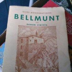 Libros antiguos: BELLMUNT. Lote 121460791