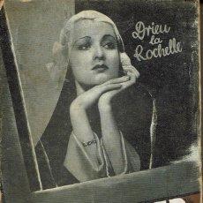 Libros antiguos: UNA MUJER EN SU VENTANA, POR DRIEU LA ROCHELLE. AÑO 1931 (6.4). Lote 121531715