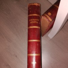 Libros antiguos: ILUSTRACION ARTISTICA 1909 AÑO COMPLETO ENCUADERNADO. Lote 121552527