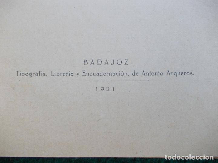 Libros antiguos: CONFERENCIA DE LABORES ANGELES MORAN MARQUEZ 1921 - Foto 5 - 121607699