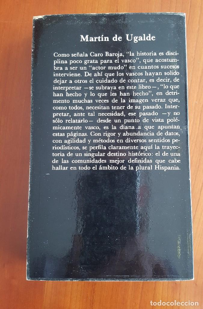 Libros antiguos: Síntesis de la historia del País Vasco - Foto 2 - 121624339