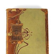 Libros antiguos: L-3474 WELTALL UND MENSCHHEIT TOMO DE ENCICLOPEDIA MODERNISTA .PRINCIPIOS DE SIGLO XX.. Lote 121726371