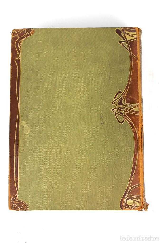 Libros antiguos: L-3474 WELTALL UND MENSCHHEIT TOMO DE ENCICLOPEDIA MODERNISTA .PRINCIPIOS DE SIGLO XX. - Foto 2 - 121726371