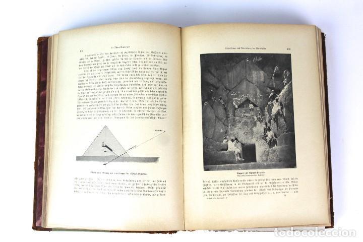 Libros antiguos: L-3474 WELTALL UND MENSCHHEIT TOMO DE ENCICLOPEDIA MODERNISTA .PRINCIPIOS DE SIGLO XX. - Foto 8 - 121726371