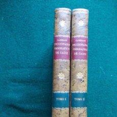 Libros antiguos: DICCIONARIO BIOGRAFICO DE CADIZ CAMBIASO AÑO 1829 TOMO I TOMO II. Lote 121728255