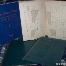 Libros antiguos: MARAVILLOSO LOTE DE CORTE SISTEMA MARTÍ : CORSÉS , MODISTERIA Y PATRONES TIPO. 1929 - 1973. UNA JOYA. Lote 156001268