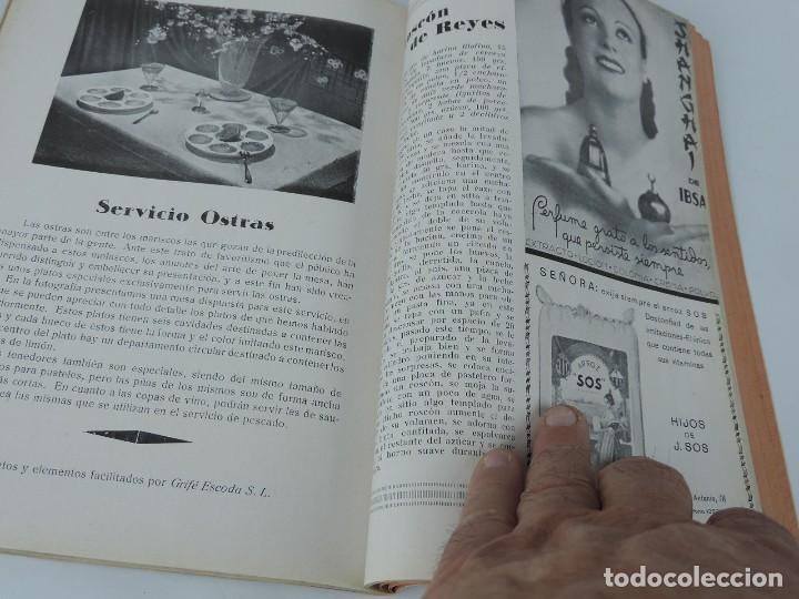 Libros antiguos: MENAGE REVISTA DEL ARTE EN LA CASA ,COCINA Y PASTELERIA MODERNAS 2 Epoca Enero 1935 - Mickey Mouse, - Foto 2 - 121826687