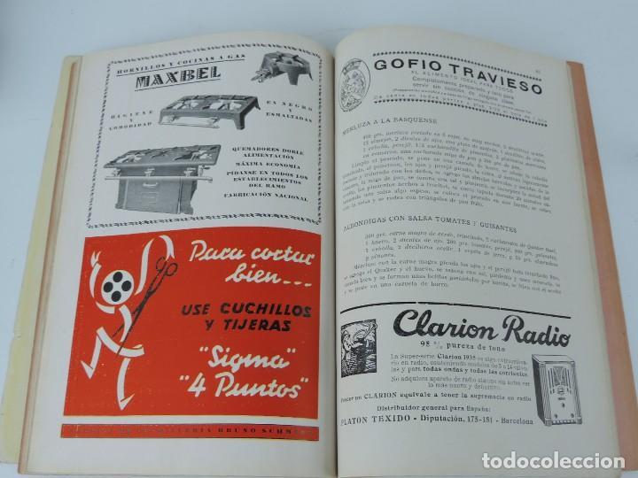 Libros antiguos: MENAGE REVISTA DEL ARTE EN LA CASA ,COCINA Y PASTELERIA MODERNAS 2 Epoca Enero 1935 - Mickey Mouse, - Foto 4 - 121826687