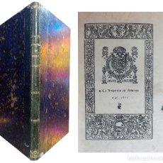 Libros antiguos: INTRODUCCIÓN DE LA IMPRENTA EN AMÉRICA: BIBLIOGRAFÍA DE LAS OBRAS IMPRESAS… DESDE 1540 A 1600. RARO. Lote 121839403