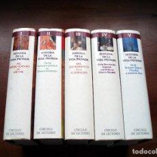 Libros antiguos: HISTORIA DE LA VIDA PRIVADA - 5 TOMOS - COMPLETA - 1993 - PHILLIPPE ARIÉS Y GEORGES DUBY. Lote 121858695