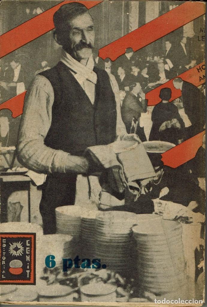 Libros antiguos: HOTEL AMÉRICA, POR MARÍA LEITNER. AÑO 1931 (2.4) - Foto 2 - 126457842