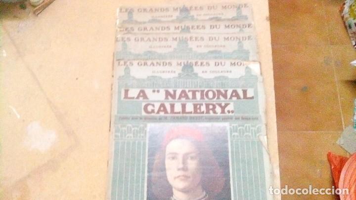 4 LIBROS DE LA NATIONAL GALLERY , EN FRANCÉS, DEL AÑO 1912, SE MANDA LO QUE SE VE EN LAS FOTOS (Libros Antiguos, Raros y Curiosos - Otros Idiomas)