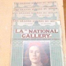Libros antiguos: 4 LIBROS DE LA NATIONAL GALLERY , EN FRANCÉS, DEL AÑO 1912, SE MANDA LO QUE SE VE EN LAS FOTOS. Lote 121957431