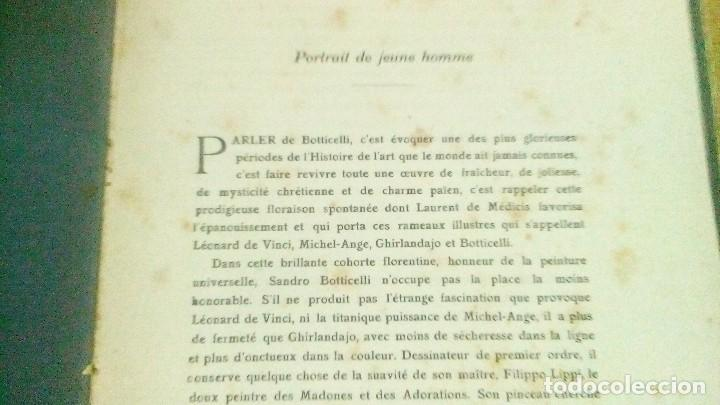 Libros antiguos: 4 libros de la national gallery , en francés, del año 1912, se manda lo que se ve en las fotos - Foto 3 - 121957431