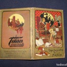 Libros antiguos: CALENDARIO 1926. PUBLICIDAD TITAN. CERVANTINA, QUIJOTE. BELLAS ILUSTRACIONES. BARCELONA. Lote 122003219