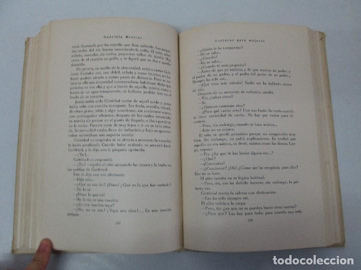 Libros antiguos: LECTURAS PARA MUJERES. GABRIELA MISTRAL. ESCUELA HOGAR 1924. VER FOTOGRAFIAS ADJUNTAS - Foto 12 - 122052011