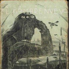 Libros antiguos: EL HOMBRE NUEVO, POR RICARDO LEÓN. AÑOS ¿20? (6.4). Lote 122164191