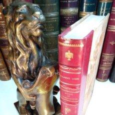 Libros antiguos: ALIVIO DE CAMINANTES - RICARDO LEÓN - TOMO I DE LAS OBRAS COMPLETAS - 1915 - RAOUL PÉANT - MADRID -. Lote 122209679