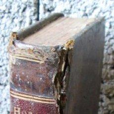 Libros antiguos: Q. HORATTI -- FLACCI CARMINA -- CUM NOTIS JUVENCII -- PARIIS 1774 . Lote 122227199
