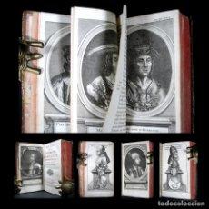 Libros antiguos: AÑO 1715 HISTORIA Y VIDA DEL EMPERADOR CARLOS V Y I DE ESPAÑA GRABADOS DESPLEGABLES SOLIMAN. Lote 122234743