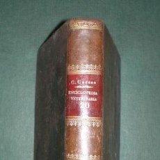 Libros antiguos: A. THARY: ARTE DE HERRAR Y FORJAR. ENCICLOPEDIA VETERINARIA TOMO XX.. Lote 122250955