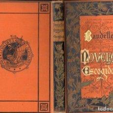 Livres anciens: BANDELLO : NOVELAS ESCOGIDAS (ARTE Y LETRAS CORTEZO, 1884). Lote 122294675