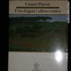 Old books - F1 FIRA D'AGOST I ALTRES CONTES CESARE PAVESE Nº 28 - 122534691