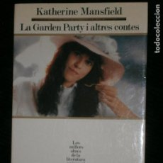 Old books - F1 LA GARDEN PARTY I ALTRES CONTES KATHERINE MANSFIELD Nº 39 - 122536671