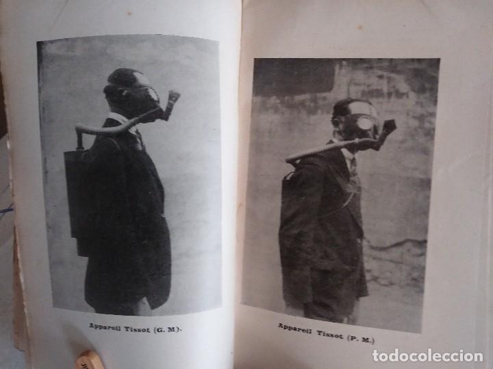 Libros antiguos: Libro muy raro sobre la Guerra Química en las poblaciones civiles. 1932. En francés.Con fotografías. - Foto 4 - 122540695