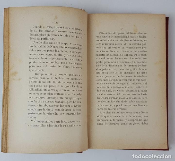 Libros antiguos: LAS AVENTURAS DE NONO. JUAN GRAVE. PUBLICACIONES DE LA ESCUELA MODERNA. BARCELONA. 1902. - Foto 3 - 122570395