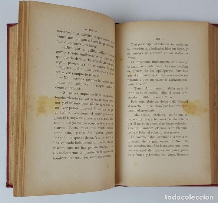 Libros antiguos: LAS AVENTURAS DE NONO. JUAN GRAVE. PUBLICACIONES DE LA ESCUELA MODERNA. BARCELONA. 1902. - Foto 4 - 122570395