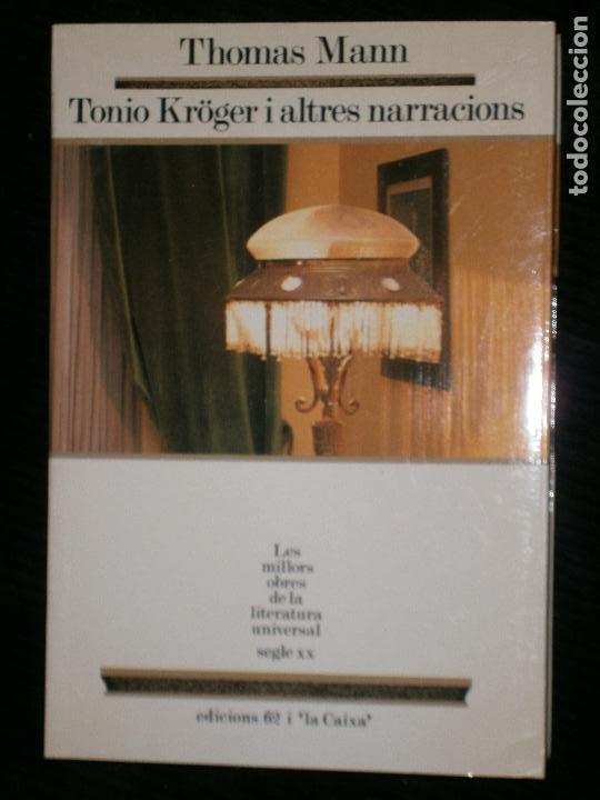 F1 TONIO KROGER I ALTRES NARRACIONS THOMAS MANN Nº 31 (Libros antiguos (hasta 1936), raros y curiosos - Literatura - Narrativa - Otros)