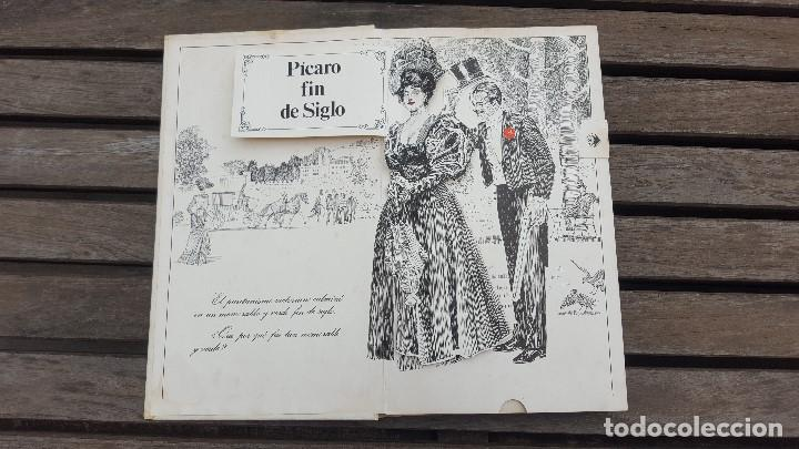 Libros antiguos: LIBRO PÍCARO FIN DE SIGLO EDITORIAL MONTENA + MOSTRADOR DE CARTÓN CON 10 MINI LIBROS TODOS IGUALES - Foto 3 - 122696411