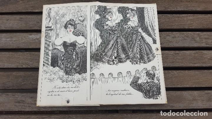 Libros antiguos: LIBRO PÍCARO FIN DE SIGLO EDITORIAL MONTENA + MOSTRADOR DE CARTÓN CON 10 MINI LIBROS TODOS IGUALES - Foto 4 - 122696411