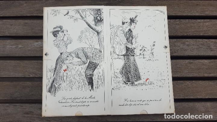 Libros antiguos: LIBRO PÍCARO FIN DE SIGLO EDITORIAL MONTENA + MOSTRADOR DE CARTÓN CON 10 MINI LIBROS TODOS IGUALES - Foto 6 - 122696411