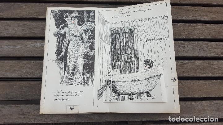 Libros antiguos: LIBRO PÍCARO FIN DE SIGLO EDITORIAL MONTENA + MOSTRADOR DE CARTÓN CON 10 MINI LIBROS TODOS IGUALES - Foto 7 - 122696411