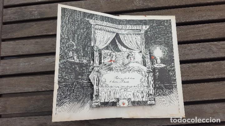 Libros antiguos: LIBRO PÍCARO FIN DE SIGLO EDITORIAL MONTENA + MOSTRADOR DE CARTÓN CON 10 MINI LIBROS TODOS IGUALES - Foto 8 - 122696411