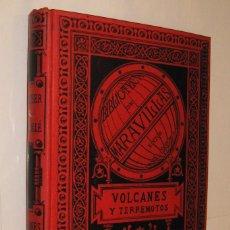 Alte Bücher - 1885 VOLCANES Y TERREMOTOS - ZURCHER Y MARGOLLE - LAMINAS Y GRABADOS * - 122768187