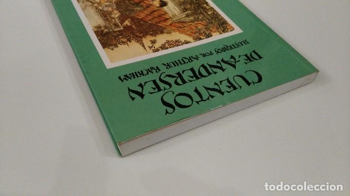 Libros antiguos: Cuentos de Andersen. Ilustrados por Arthur Rackham. Editorial Juventud - Foto 3 - 122826039