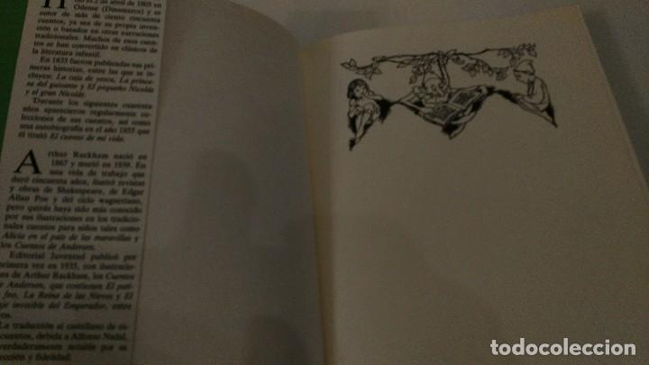 Libros antiguos: Cuentos de Andersen. Ilustrados por Arthur Rackham. Editorial Juventud - Foto 4 - 122826039