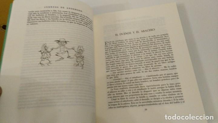 Libros antiguos: Cuentos de Andersen. Ilustrados por Arthur Rackham. Editorial Juventud - Foto 5 - 122826039