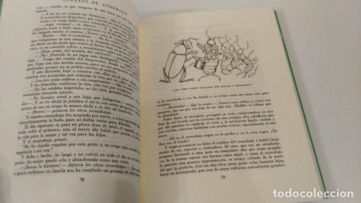 Libros antiguos: Cuentos de Andersen. Ilustrados por Arthur Rackham. Editorial Juventud - Foto 6 - 122826039