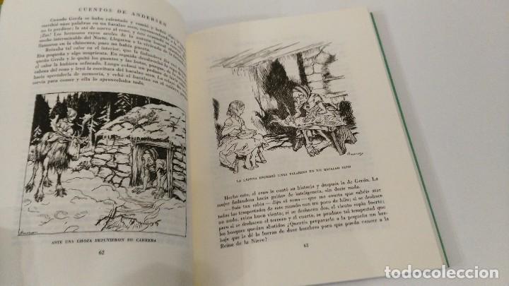 Libros antiguos: Cuentos de Andersen. Ilustrados por Arthur Rackham. Editorial Juventud - Foto 7 - 122826039