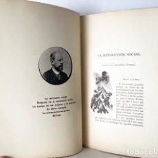 Libros antiguos: N FABRA : EL PROBLEMA SOCIAL 1892 (EL SOCIALISMO; DESPUÉS DE LA REVOLUCIÓN; LA HUELGA DE LAS MUJERES. Lote 122879799