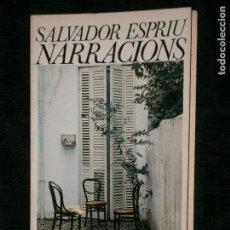 Libros antiguos: F1 NARRACIONS SALVADOR ESPIRU. Lote 122890079