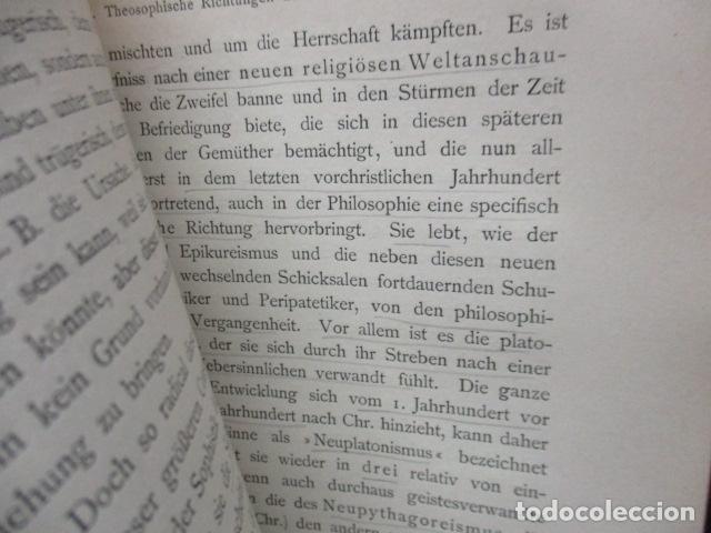 Libros antiguos: EINLEITUNG IN DIE PHILOSOPHIE - WILHEM WUNDT - LEIPZIG, AÑO 1901(EN ALEMAN) - Foto 10 - 122947679