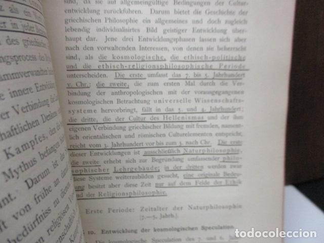 Libros antiguos: EINLEITUNG IN DIE PHILOSOPHIE - WILHEM WUNDT - LEIPZIG, AÑO 1901(EN ALEMAN) - Foto 11 - 122947679