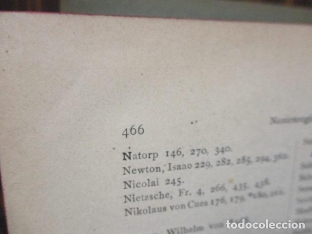 Libros antiguos: EINLEITUNG IN DIE PHILOSOPHIE - WILHEM WUNDT - LEIPZIG, AÑO 1901(EN ALEMAN) - Foto 12 - 122947679