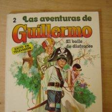 Libros antiguos: LAS AVENTURAS DE GUILLERMO 2 - EL BAILE DE DISFRACES - FOTO-CÓMIC - RICHMAL CROMPTON. Lote 122949179