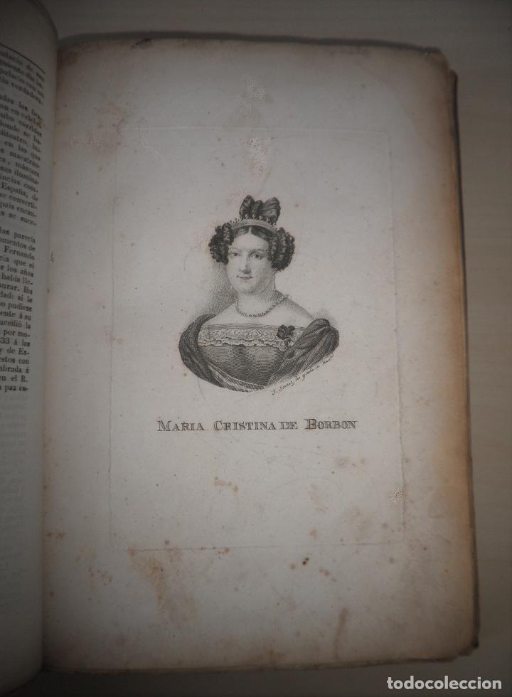 Libros antiguos: GUERRAS CARLISTAS - PANORAMA ESPAÑOL AÑO 1842 - BELLOS GRABADOS. - Foto 5 - 122988639